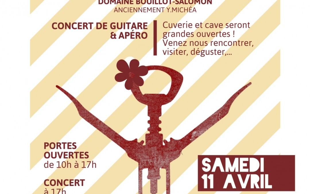 Portes ouvertes musico-festives au domaine Bouillot-Salomon