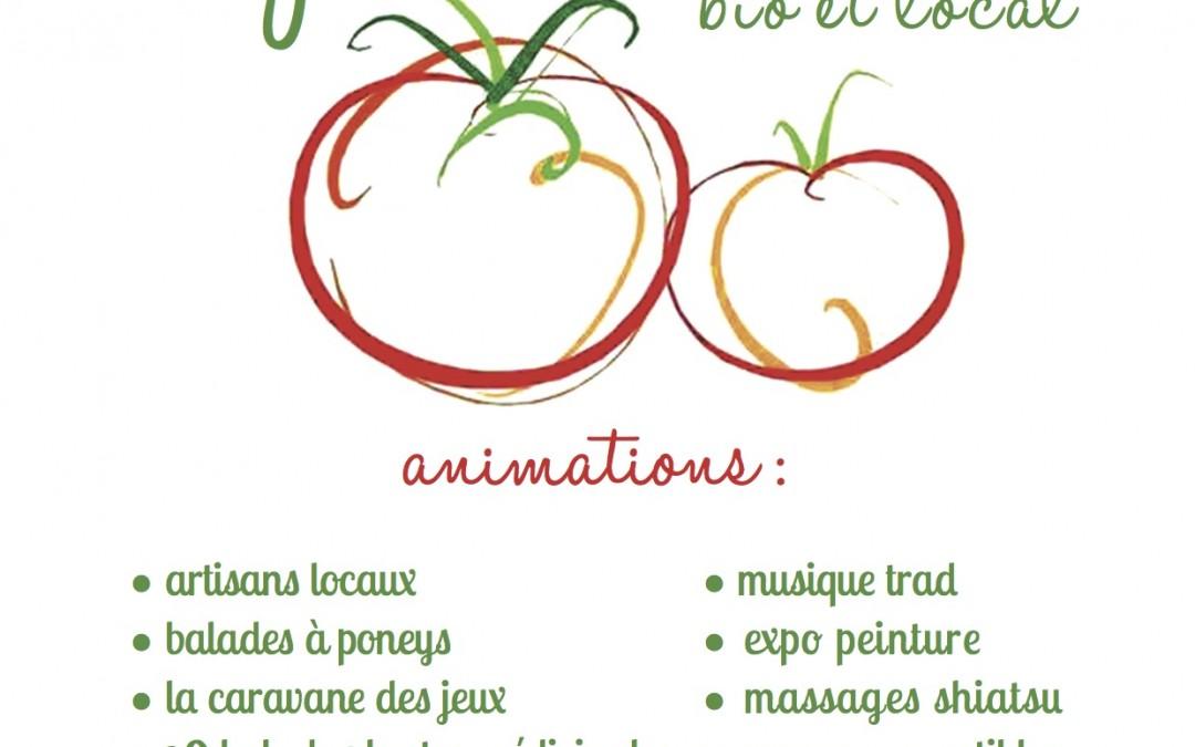 Le petit marché bio et local – Savigny sous Mâlain – dimanche 31 mai