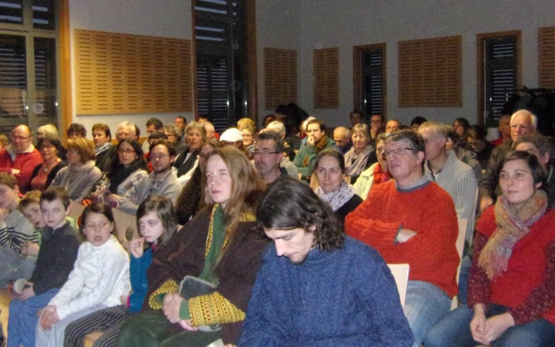 [Projet d'association] Salle pleine pour la projection du film «En quête de Sens»