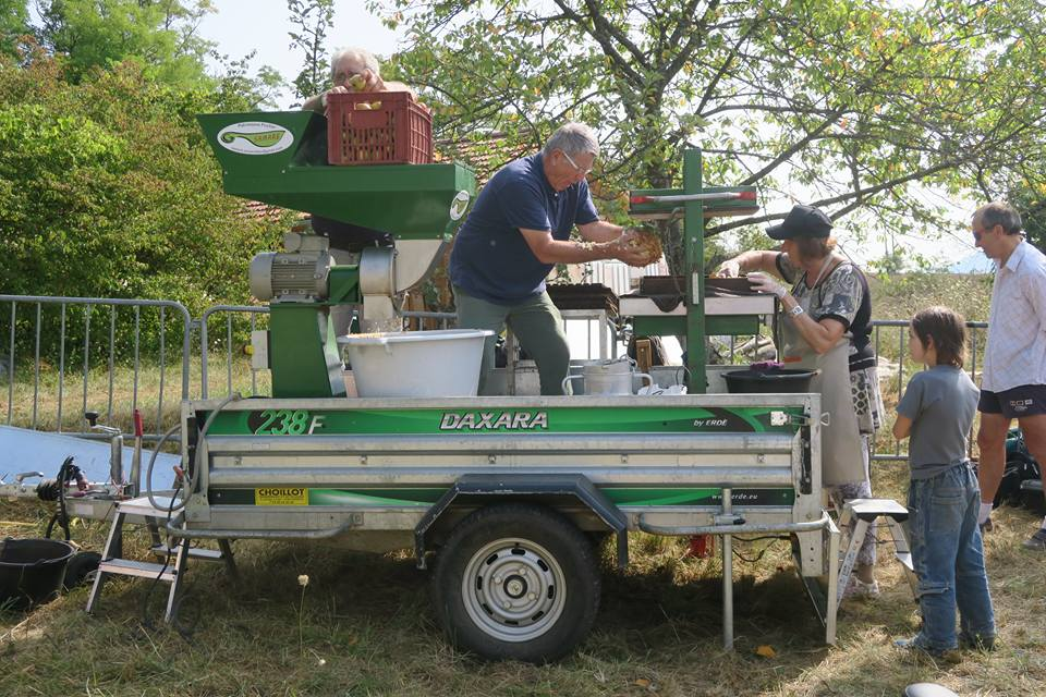 Fabrication jus de pomme