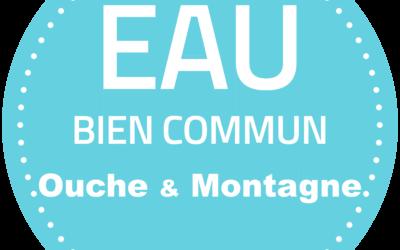 Invitation – AG constitutive Eau Bien Commun Ouche & Montagne – 26 janvier 2018