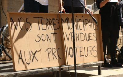 Pour les jardins de l'Engrenage, contre la politique du béton à Dijon