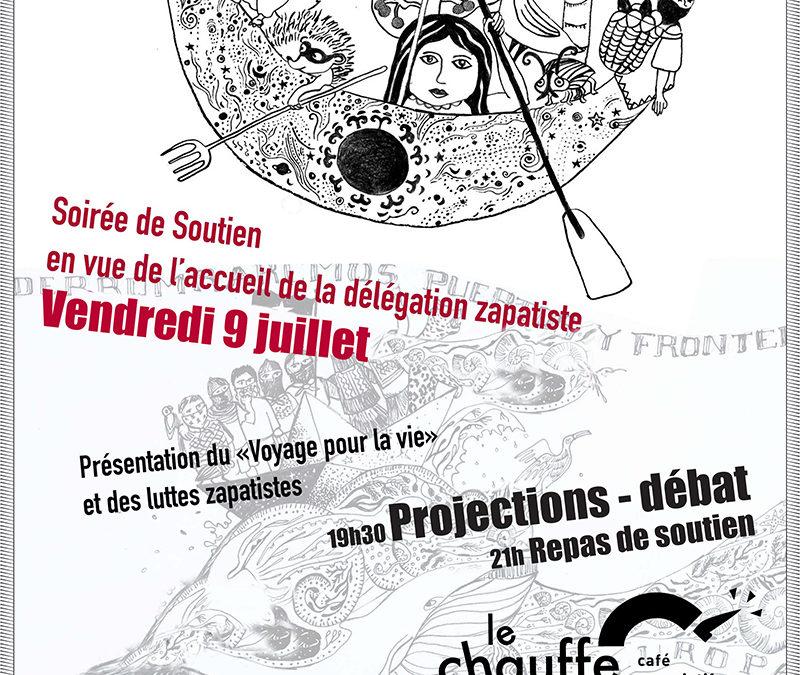 Soirée zapatiste – Projection-débat et repas de soutien – 9 juillet